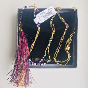 Flirty Rebecca Minkoff Tassel Pendant Necklace